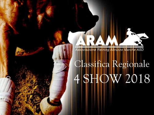 Classifica regionale dopo il 4 show ARAM 2018
