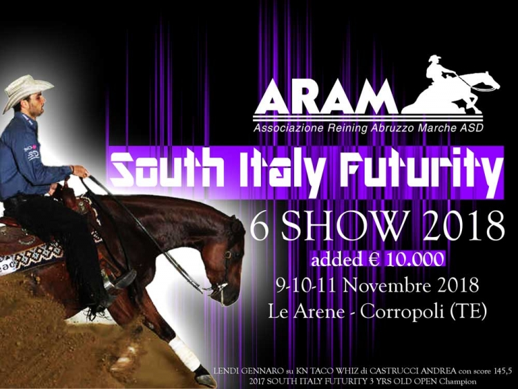 South Italy Futurity e 6 show ARAM 2018