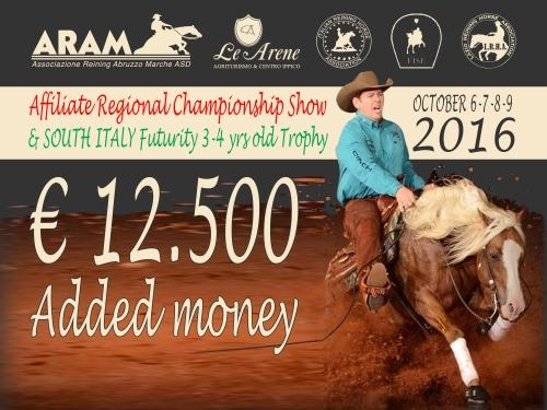 South Italy Futurity e 7 show ARAM 2016