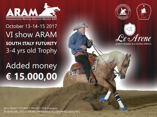 South Italy Futurity e 6 show ARAM 2017